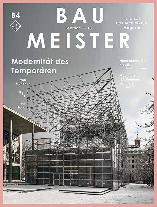 Architektur Magazin baumeister das architektur magazin by herburg weiland graphic