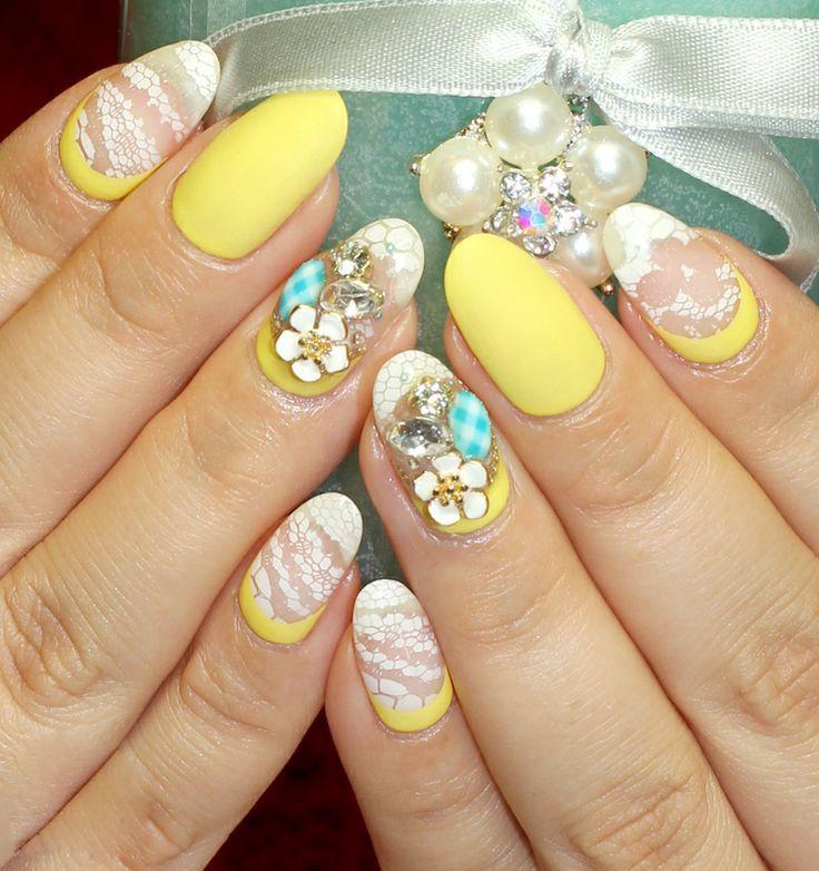 Light yellow Nail Gelartist ,uv nail gel,nail polish ,nail art, nail ...