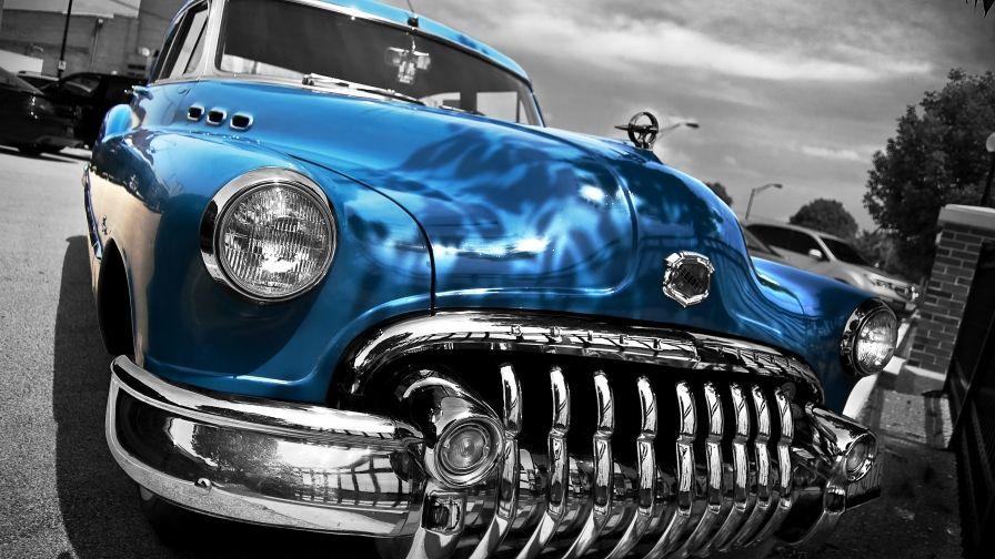 Beautiful Blue Car Hd Wallpaper Download High Definition Car Hd