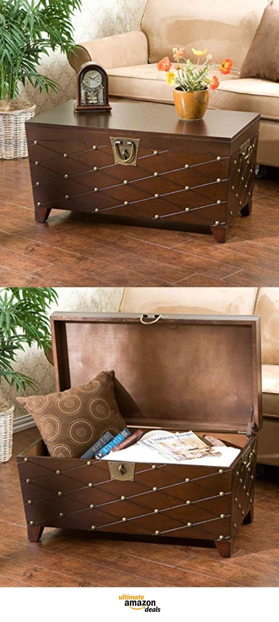 13 Unique Storage Trunks For Stylish Organization On Amazon Now Amazon Home Decor Unique Storage Stylish Organizing #storage #trunks #living #room