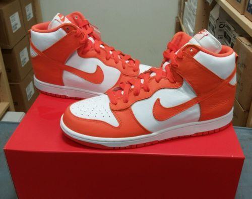 Nike Dunk Retro Qs Syracuse Not Air Jordan 1 Og Shattered Backboard Reverse Sneakers Nike Nike Nike Dunks