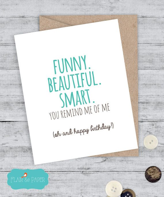 Girlfriend Birthday Card - Friend Birthday - Funny Birthday Card - Snarky Card…