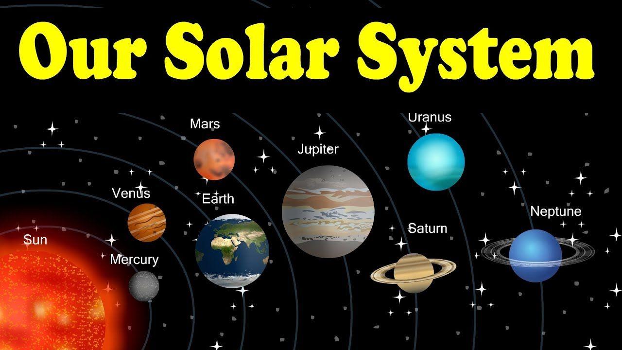 Solar system from kid2teentv | Planet for kids, Solar ...