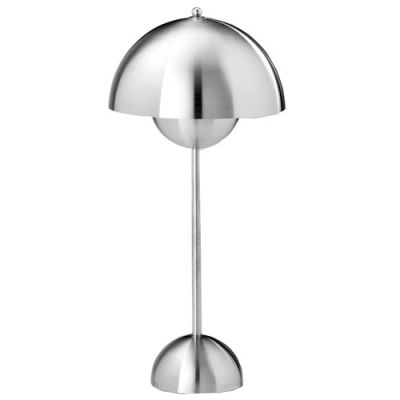 Flower Pot Vp3 Tablelamp In Steel Lamp Lighting Concepts