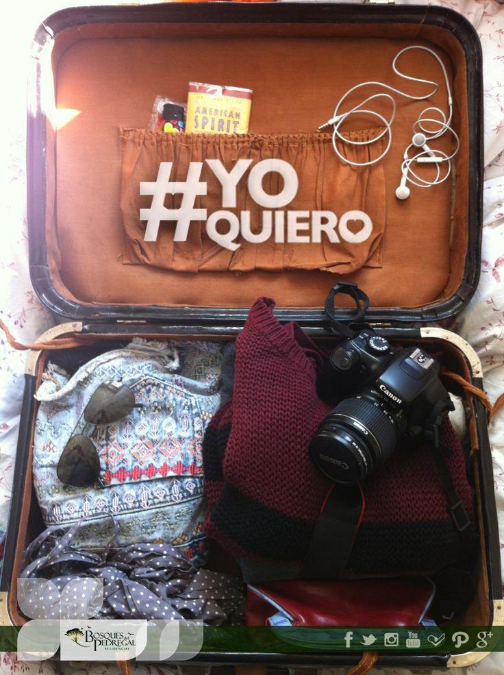 #YoQuiero ganarme un viaje. ¿Y tú qué quieres? con el hashtag #YoQuiero dinos qué quieres podría hacerse realidad.