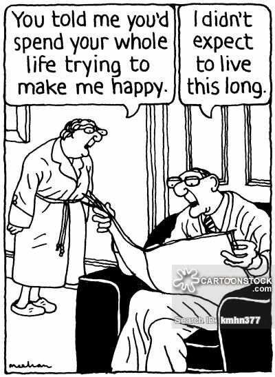 Funny Memes For Married Couples : Old married couple cartoons funny elderly