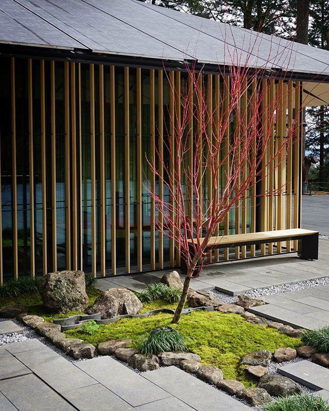 """Ein kleiner """"Vignetten"""" -Garten, bekannt als Tsubo-Niwa (Innenhofgarten), ... #smalljapanesegarden"""