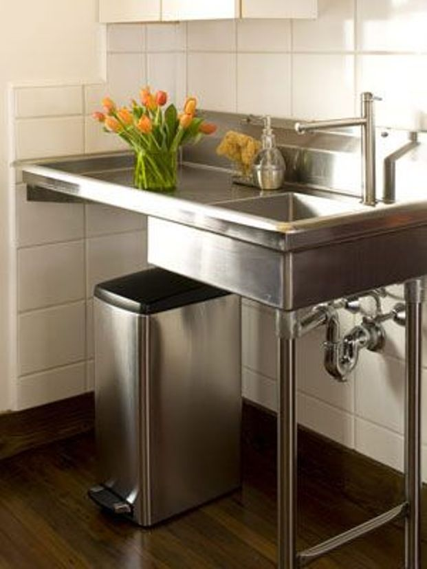 stand alone stainless steel kitchen sink … | pinteres…