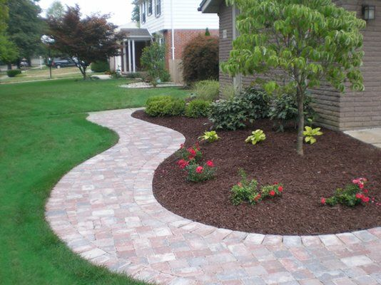 brick walkways landscape & hardscape