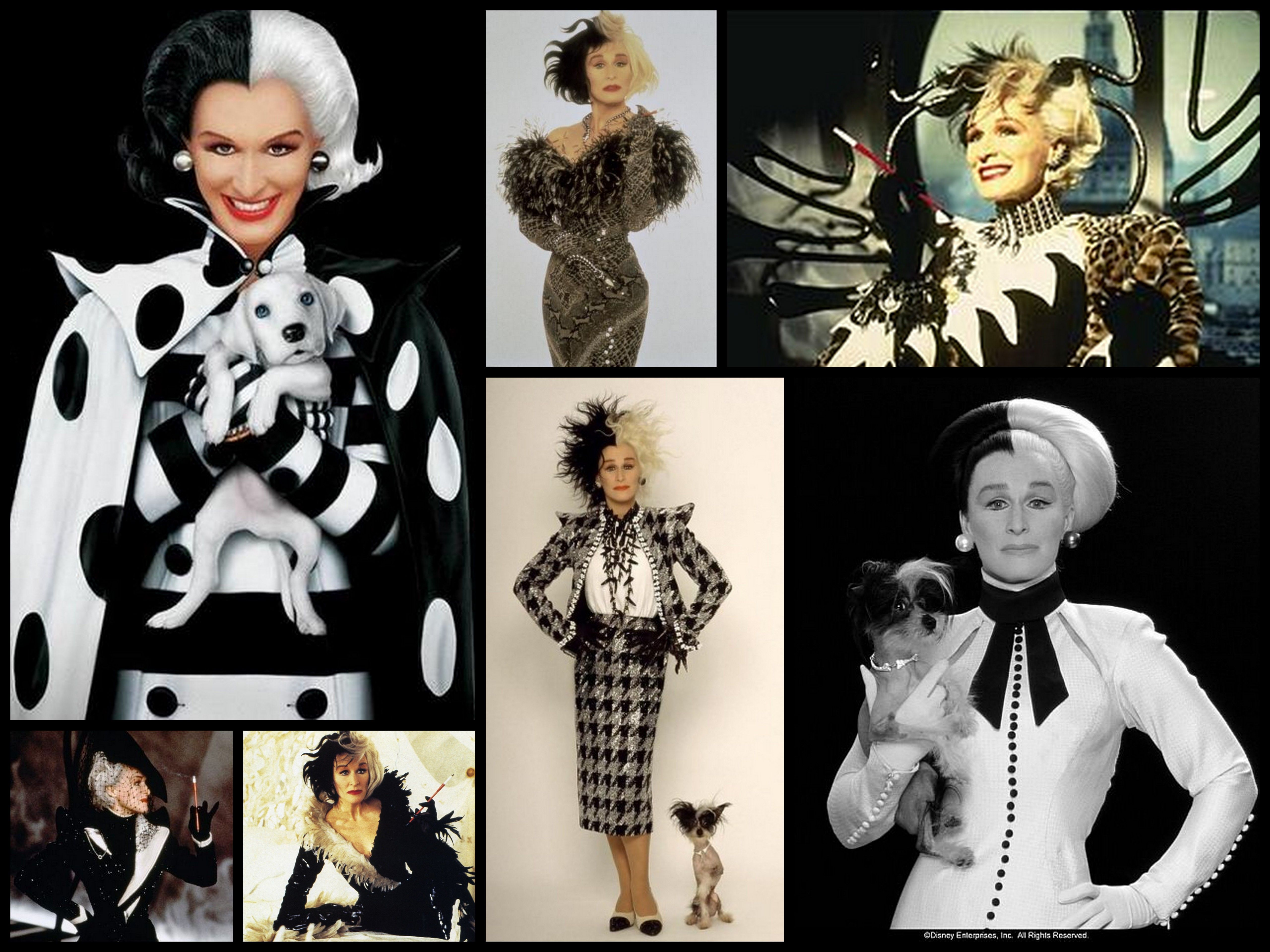 Sexy.❤❤❤♔♕Cruella Devil Costume 101 Dalmatians ...