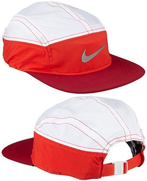 83907c941f4 Nike Womens Run Zip AW84 Dri-Fit Running Hat Noble Red White in 2018 ...