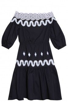 pallas drop-shoulder dress by PETER PILOTTO. Available in-store and on Boutique1.com