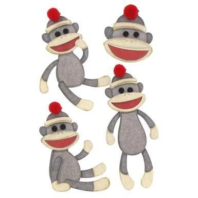 sock monkey clip art crafts sock monkeys pinterest monkey rh pinterest com Sock Monkey Clip Art Black and White Sock Monkey Face Clip Art