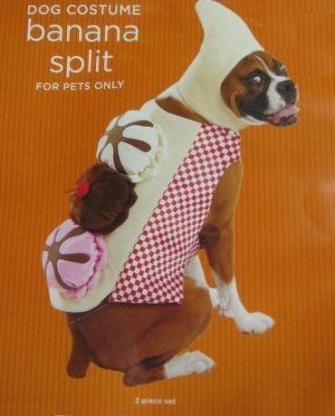 Banana Split Pet Costume L For More Information Visit Image