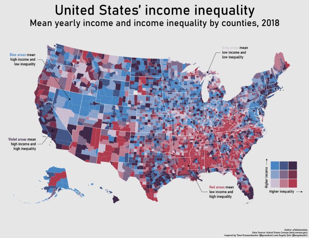 Datarep United States Income Inequality Keep Maps On The Web Map Inequality Star Trek Data