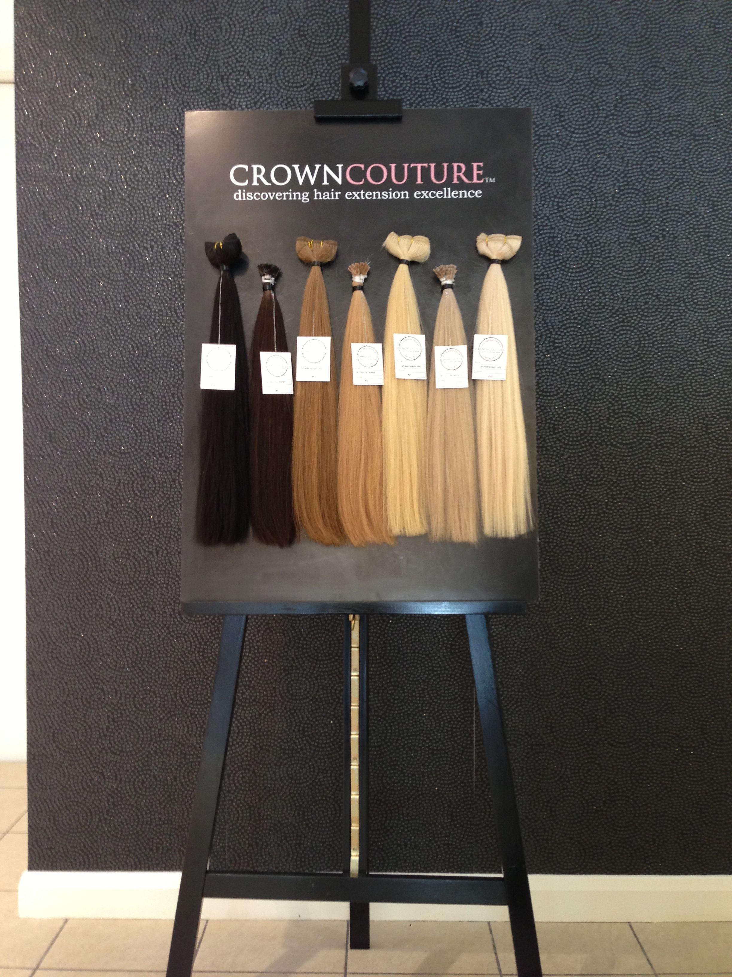 Crowncouture Hair Extension Boutique Retail Pinterest Hair