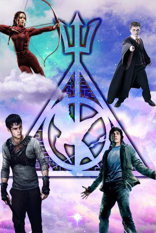Fandom The Hunger Games Percy Jackson Harry Potter Maze Runner