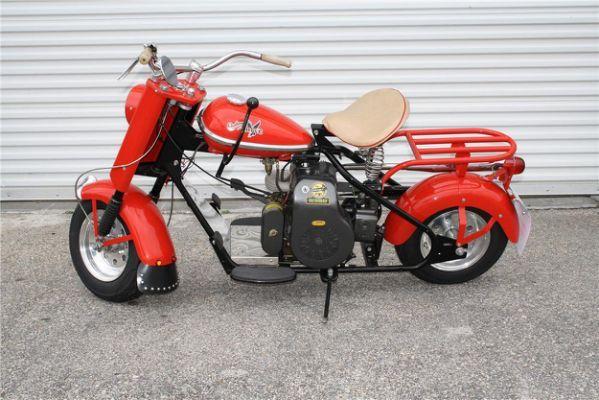מסודר 1959 CUSHMAN EAGLE SCOOTER - Barrett-Jackson | Scooters | Motor OX-65