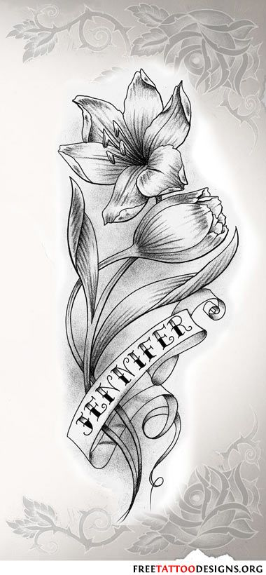 flower name tattoo in black and white wings from heaven pinterest tattoo flower and. Black Bedroom Furniture Sets. Home Design Ideas