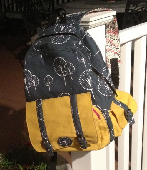 Dawn To Dusk crafted by Nancy - A ChrisW Designs pdf backpack sewing ...