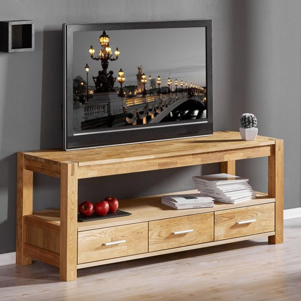 Tv Bank Royal Oak Xl Eiche Geolt Bettenlager Wohnzimmer Royal Oak