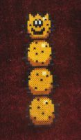 Beads - Mario characters 11 by Oggey-Boggey-Man