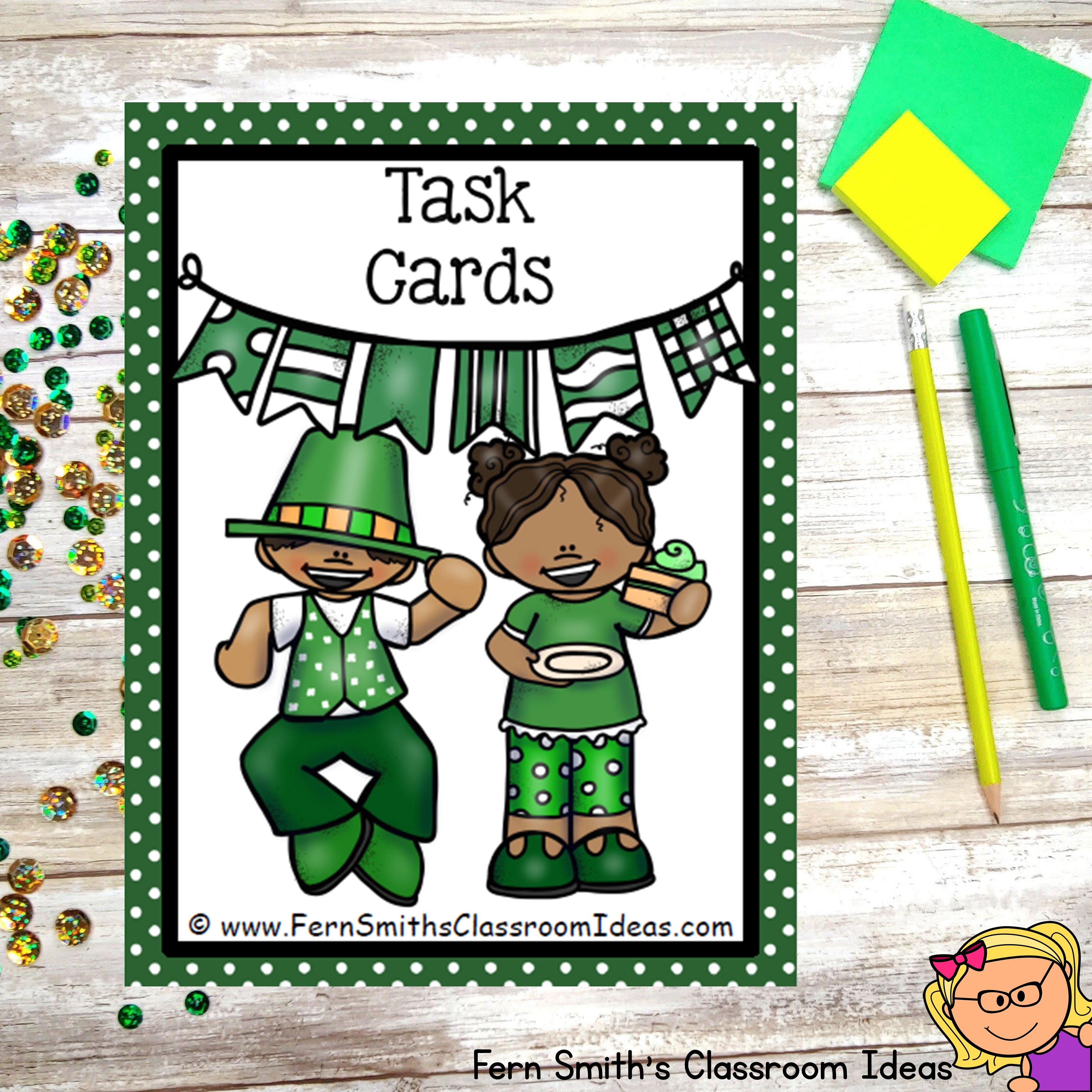 St Patrick S Day Task Cards Addition And Subtraction