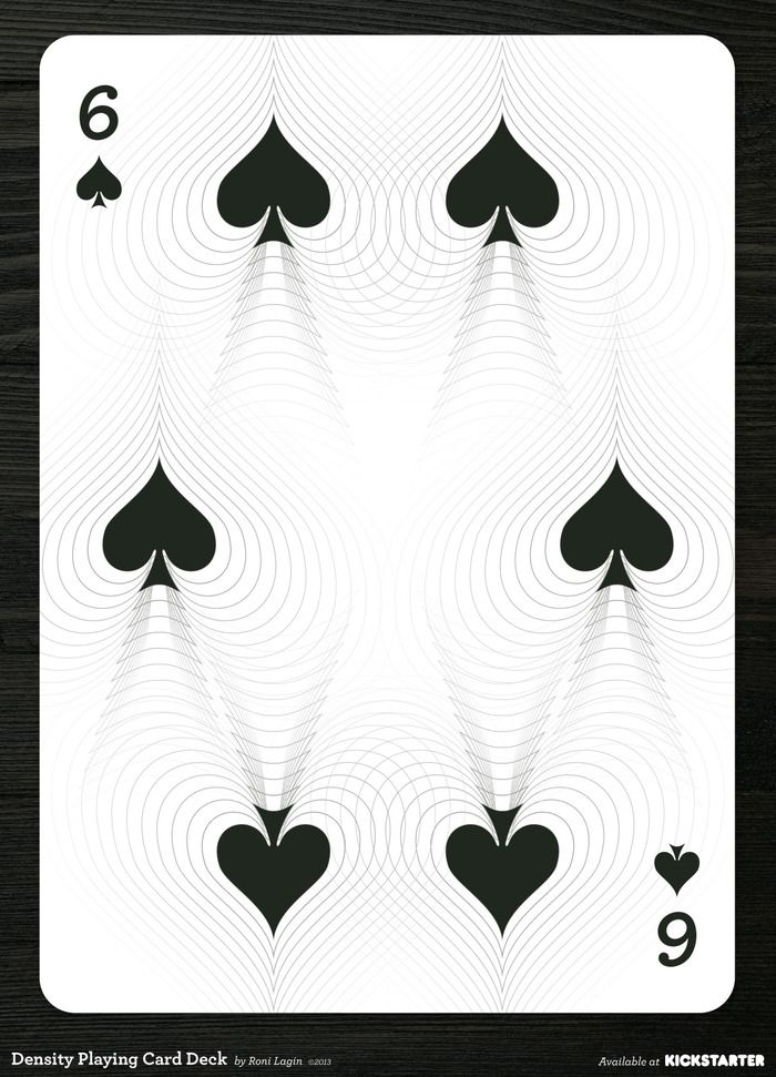 Density Playing Card Deck Printed By Uspcc By Roni Lagin