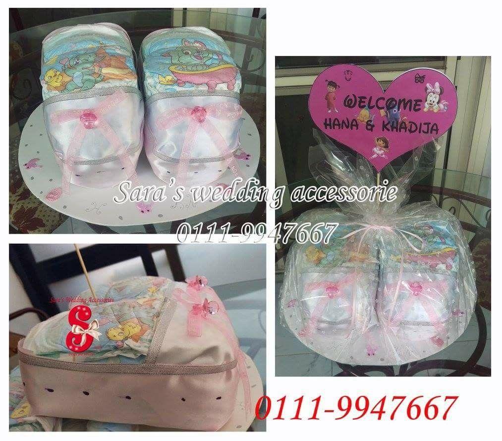 Diaper Choes Baby Baby Shower Gifts Twin Cairo Egypt سبوع عقيقة توأم هديه مصر القاهره Baby Shower Diaper Toms Original