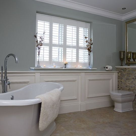 Bathroom Paneling Ideas: Pin By Adrian Abusway On Home Sweet Home