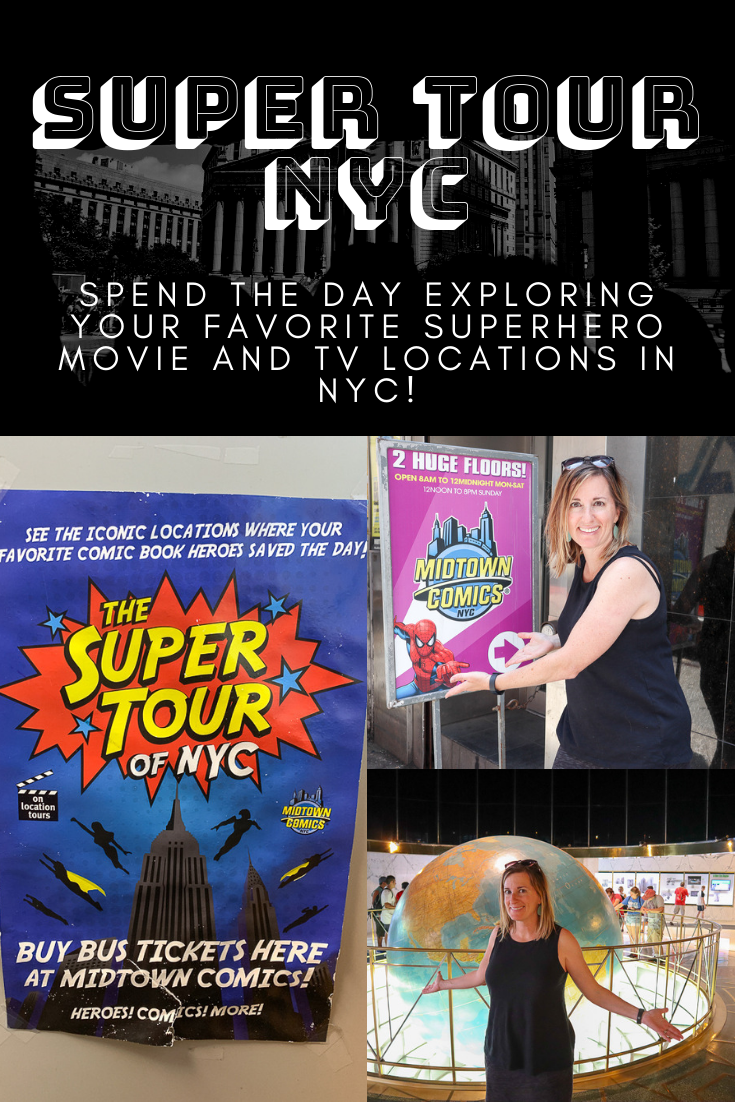 Super Tour NYC For Superhero Fans And Tourists!