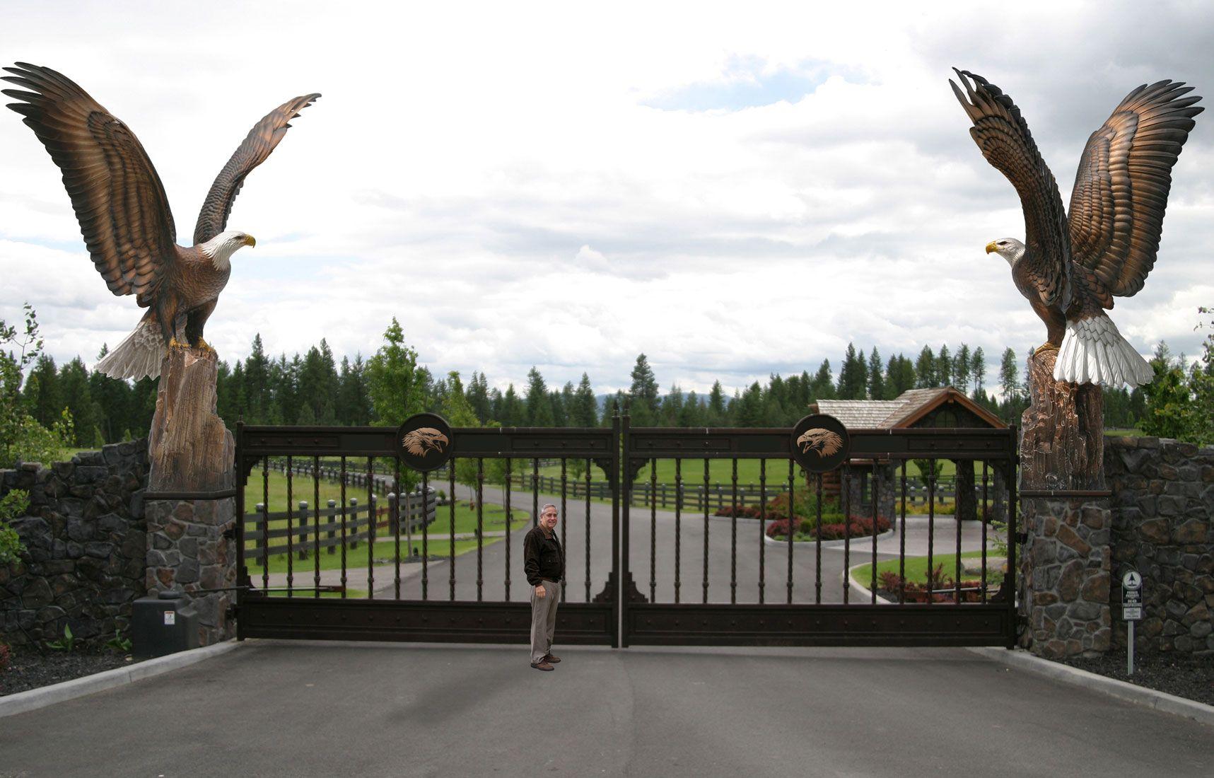 Enduring Spirit Eagle Monument Estate Gate Entry