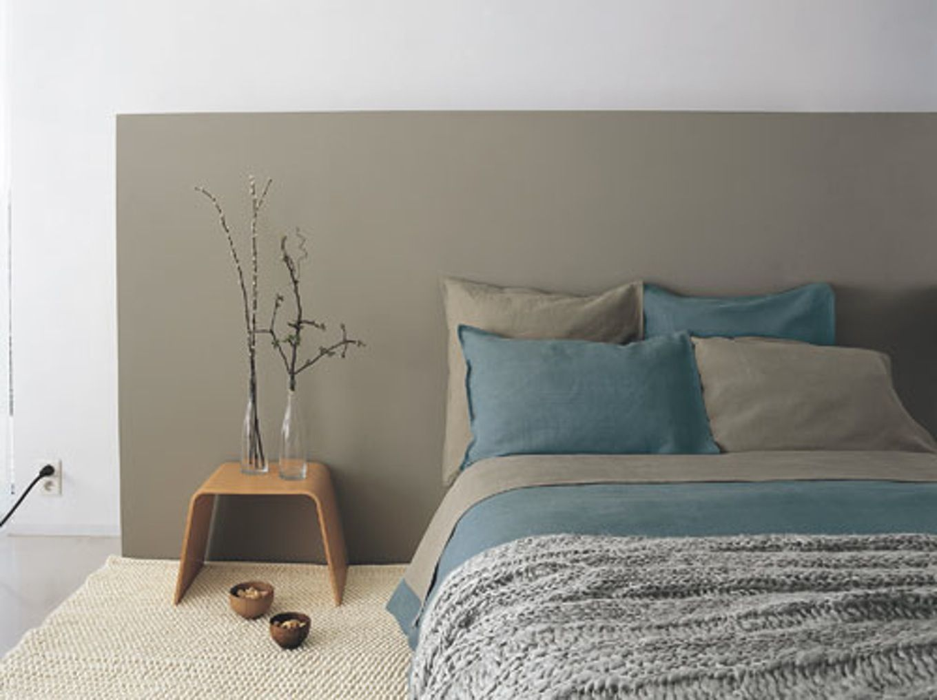 Beautiful Chambre Turquoise Et Beige Images - Design Trends 2017 ...