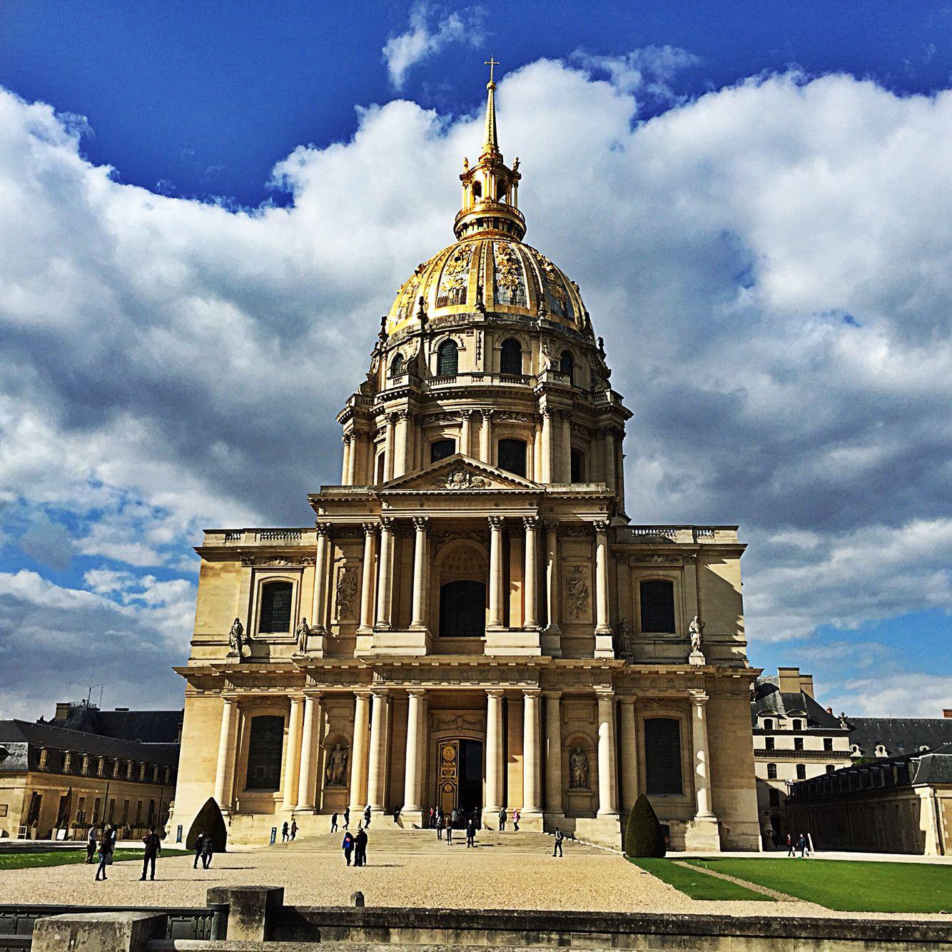Hotel des Invalides, graf van Napoleon, Parijs