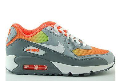 Ebay Angebot Nike Air Max 90 Premium Mesh (GS) Sneakers Gr