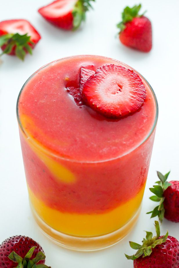 Strawberry Mango Smoothie #fruitsmoothie