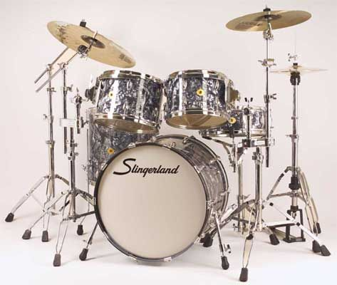 Slingerland Drums With This Set I Would Take Up Drumming Again