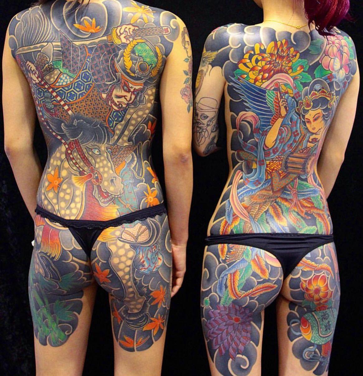 Tatuajes Cuerpo Entero tatuaje japonés cuerpo entero mujer | tatuajes | pinterest | tattoos
