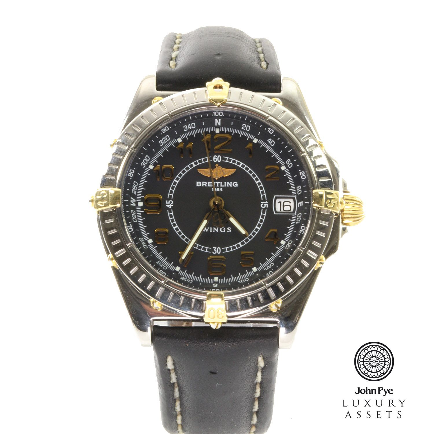 Breitling Wing Gents Stainless Steel Quartz Watch