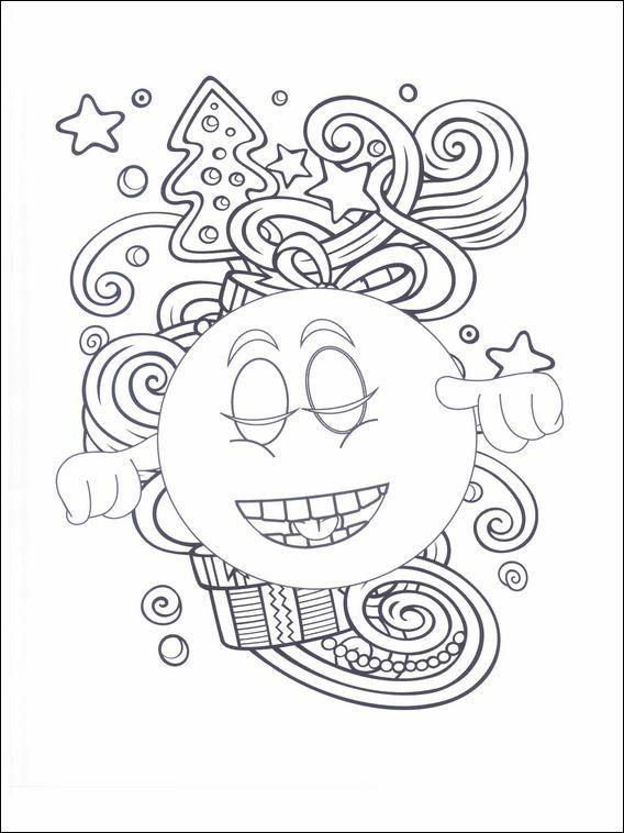 Desenhos Para Colorir E Pintar Para Criancas Emojis Emoticons 28