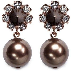 Joomi Lim Spike pearl earrings