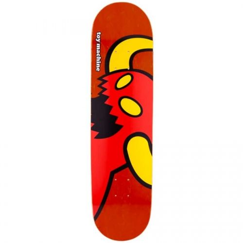 Toy Machine Skateboards <br> Toy Machine Vice Monster Deck <br> Red Stain 8.125x32.375