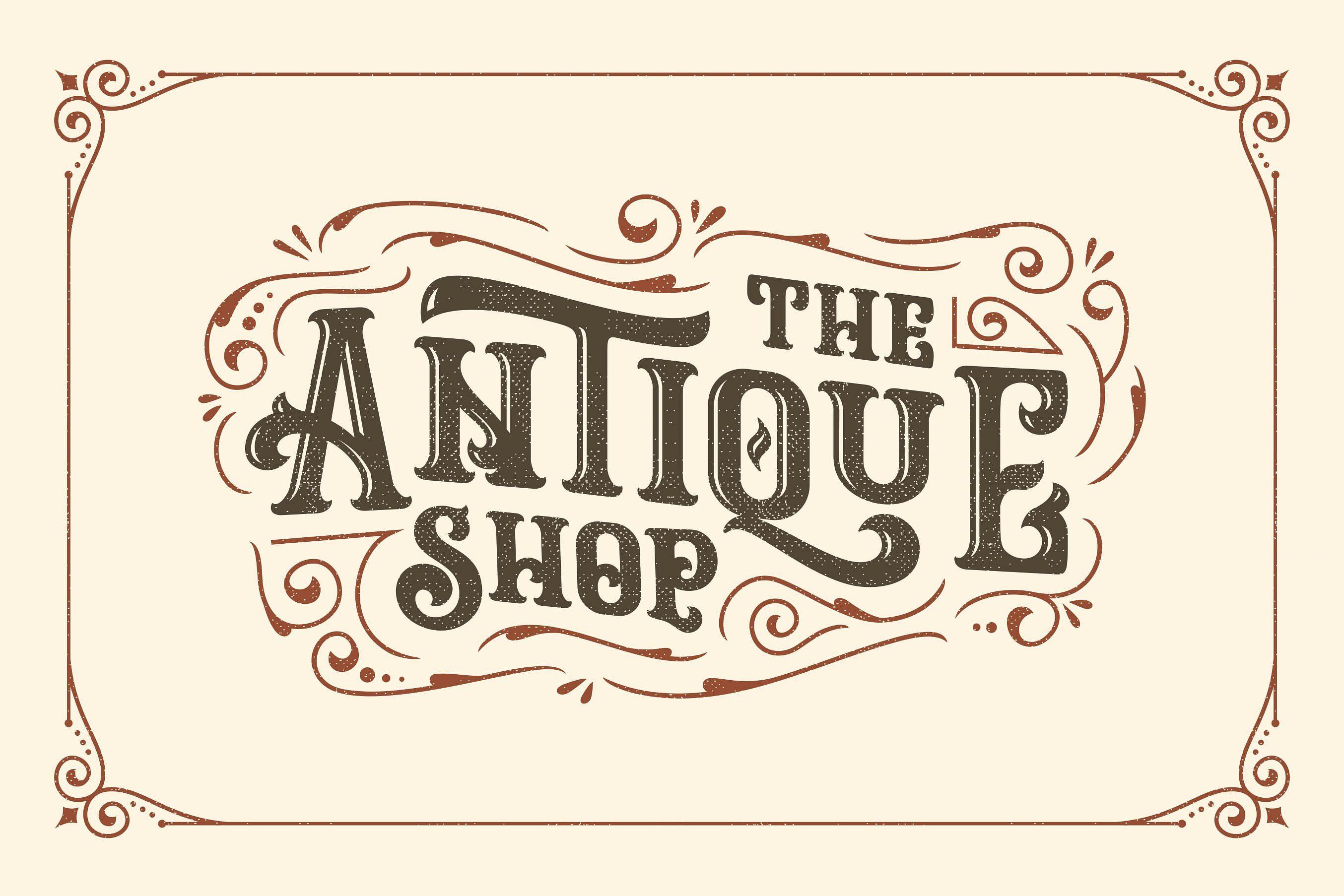 Ropstone + Special Bonus Free font, Retro typography