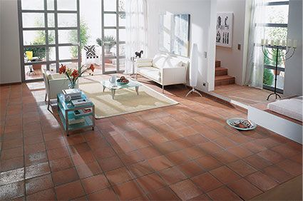 Aragon Terracotta Red Quarry Tiles   Walls and Floors   Floors ... on concrete kitchen floor ideas, red tile bathroom remodeling ideas, ceramic tile kitchen floors ideas, red tile flooring ideas, laminate kitchen flooring ideas,