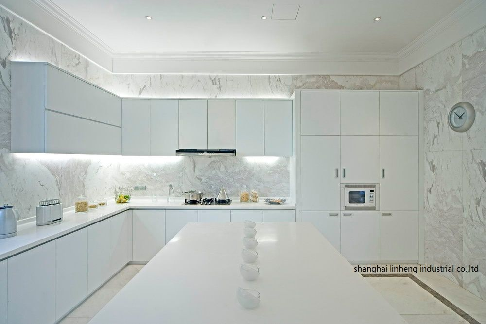 White Lacquer Kitchen Cabinets For Sale