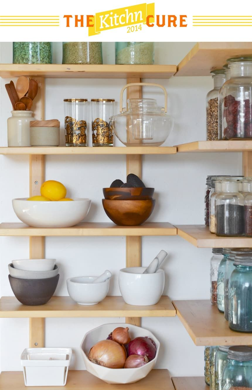 The Kitchn Cure Day 12: Clean and Organize Your Pantry Shelves #pantryshelving
