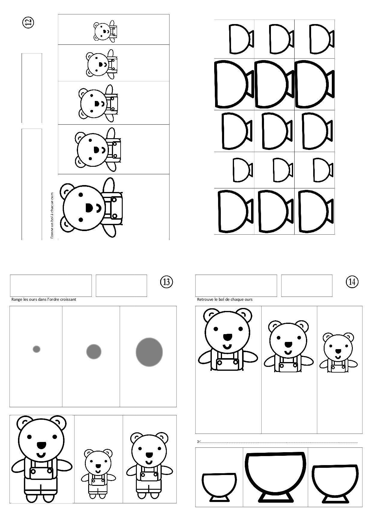 fichier boucle d 39 or et les trois ours conte boucles d 39 or pinterest boucles maternelle et. Black Bedroom Furniture Sets. Home Design Ideas