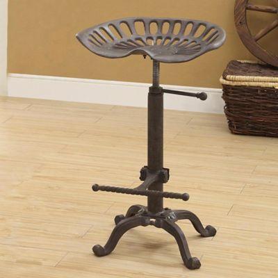 Remarkable Carolina Cottage Mason Adjustable Tractor Seat Stool Ibusinesslaw Wood Chair Design Ideas Ibusinesslaworg
