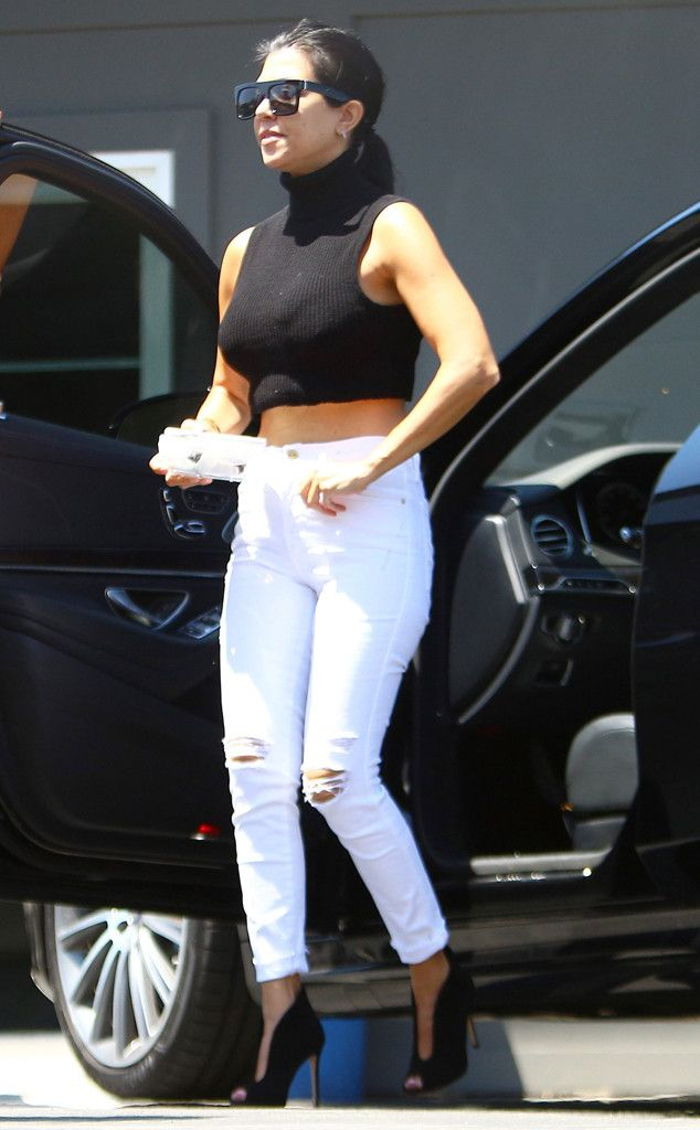 Here Are 9 Outfits Proving Kourtney Kardashian Is Sexier Than Ever After Splitting With Scott Disick! | E! Online