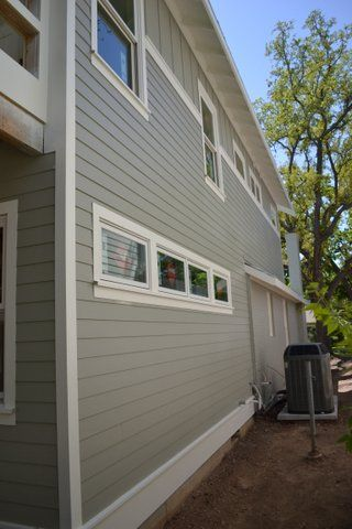 Side Of The House From An Exterior Painting Job House Paint Interior House Painting Exterior Paint